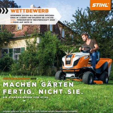 Stihl – Frühlingsangebote 2019